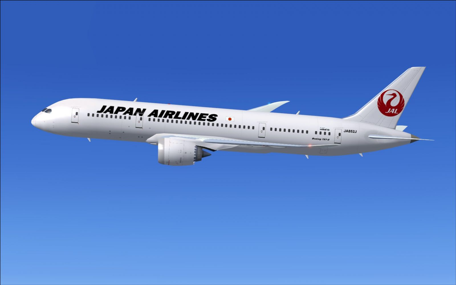 JAL japan-airlines-boeing787