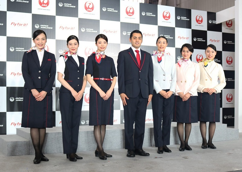 Japan Airlines uniforms