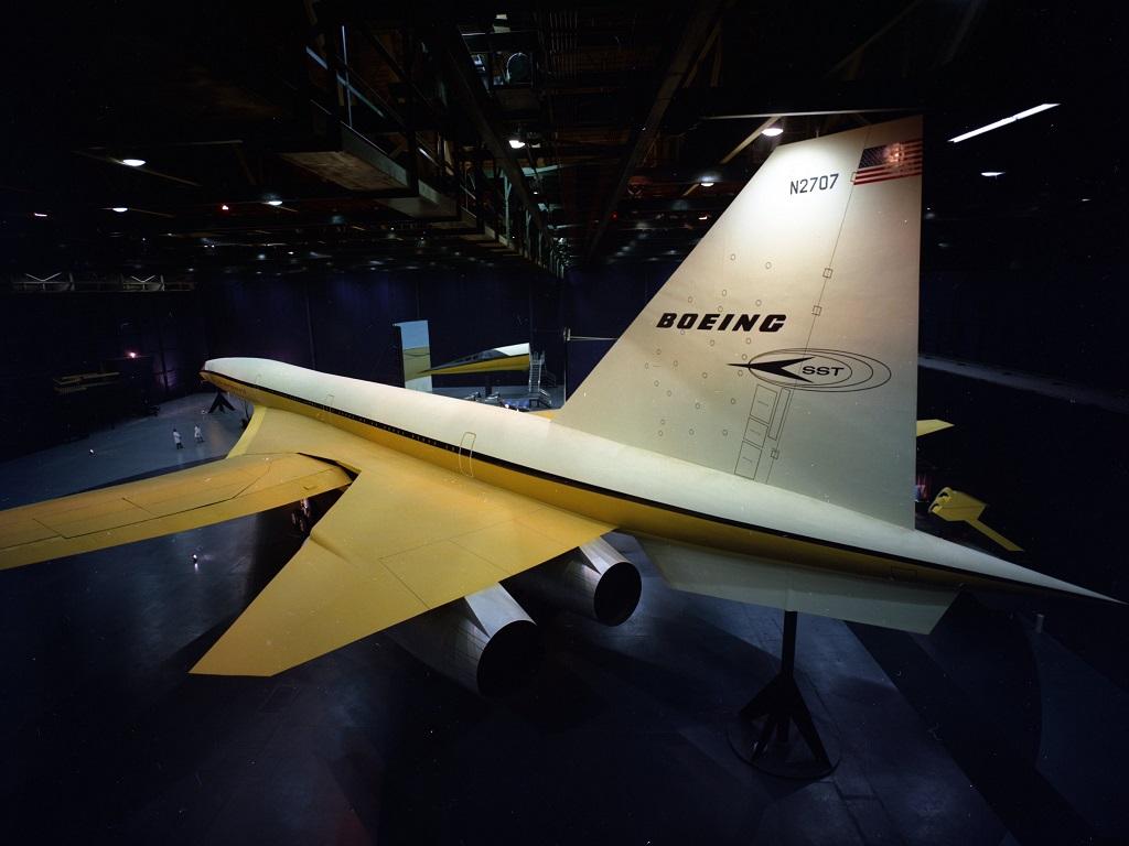 Boeing's 2707 mockup