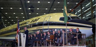 Boeing's first 737