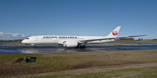 Japan Airlines 777 Picture: Japan Airlines