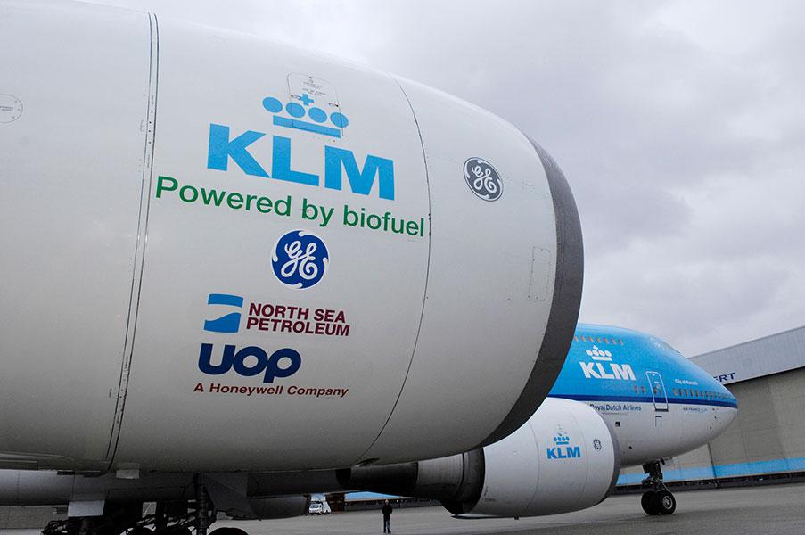 KLM biofuel Europe