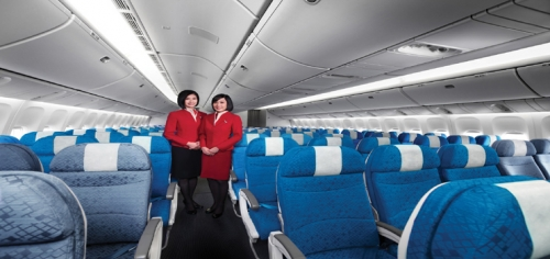 Economy Class Picture: Cathay Pacific