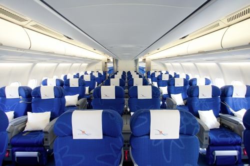 Edelweiss long haul Business Class  Picture: Edelweiss