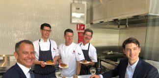 Qantas' Philip Capps and David Caon