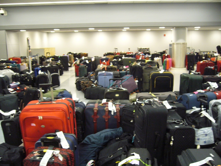 Luggage lost compensation