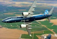 Boeing MAX return push back