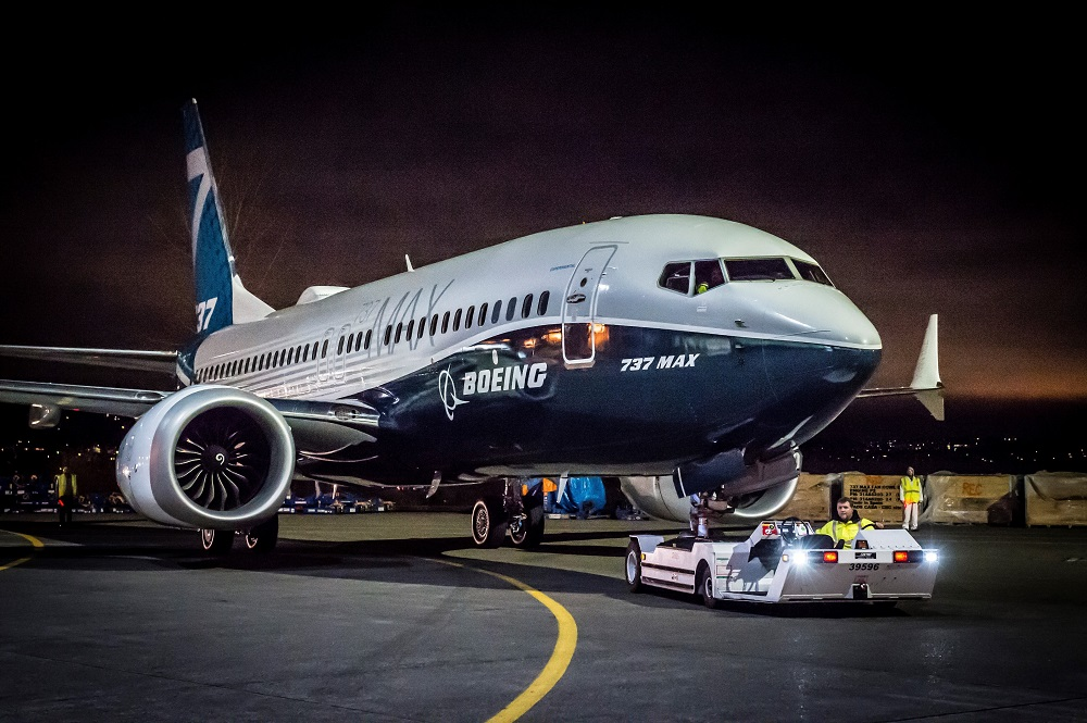 Boeing 737 MAX 7 rollout