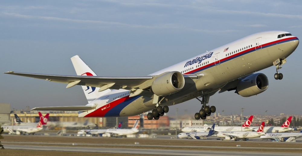 Missing Malaysia Airlines Boeing 777