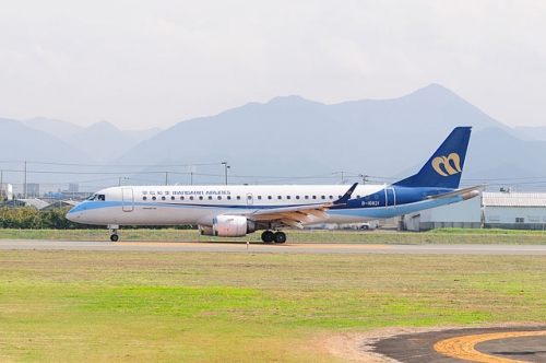 Mandarin Airlines Embraer E190  Picture: Contri/commons.wikimedia.org. Original image from Flickr
