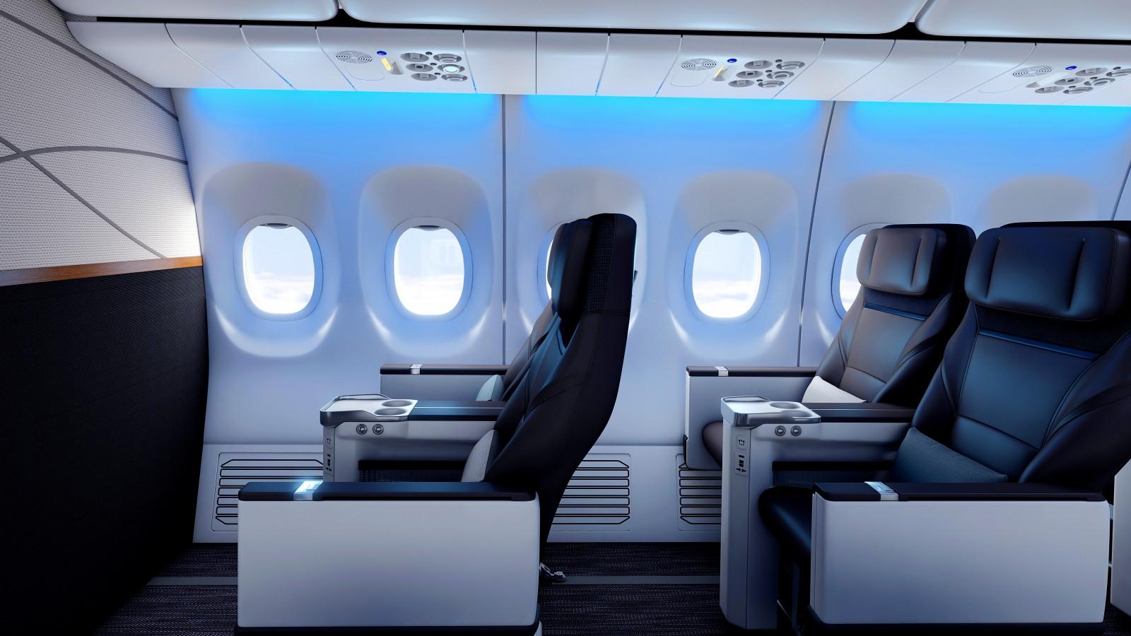 Alaska Airlines business class
