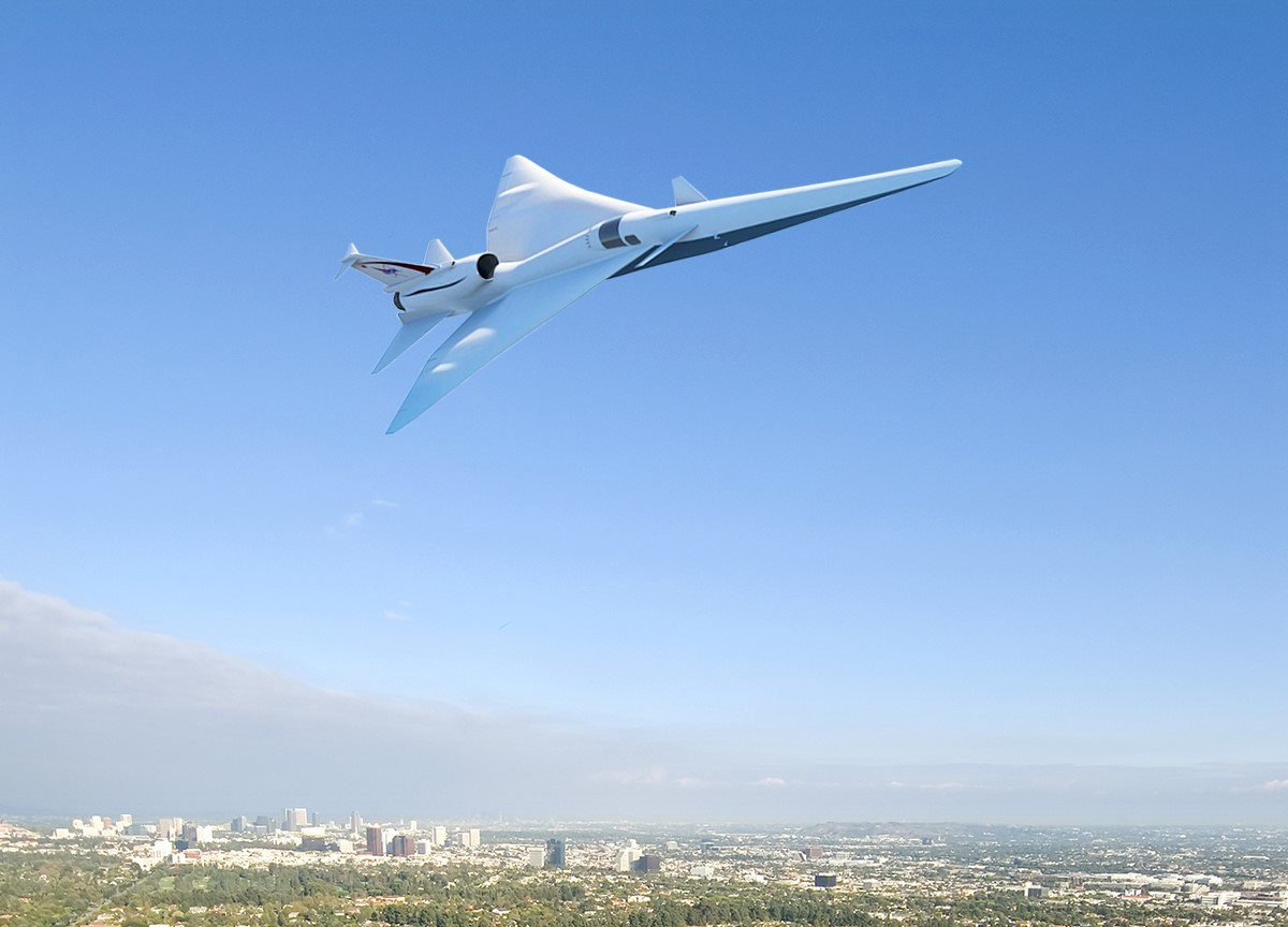 X-Plane supersonic boom
