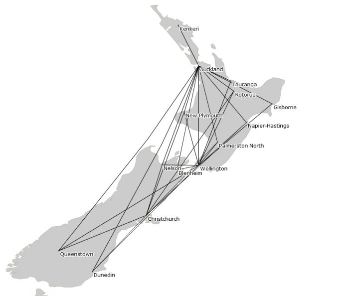Air New Zealand Qantas codeshare
