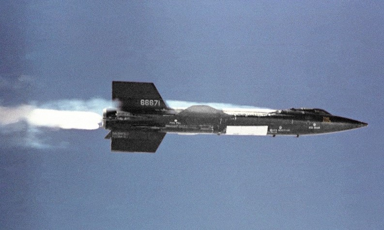 NASA spin-offs plane X