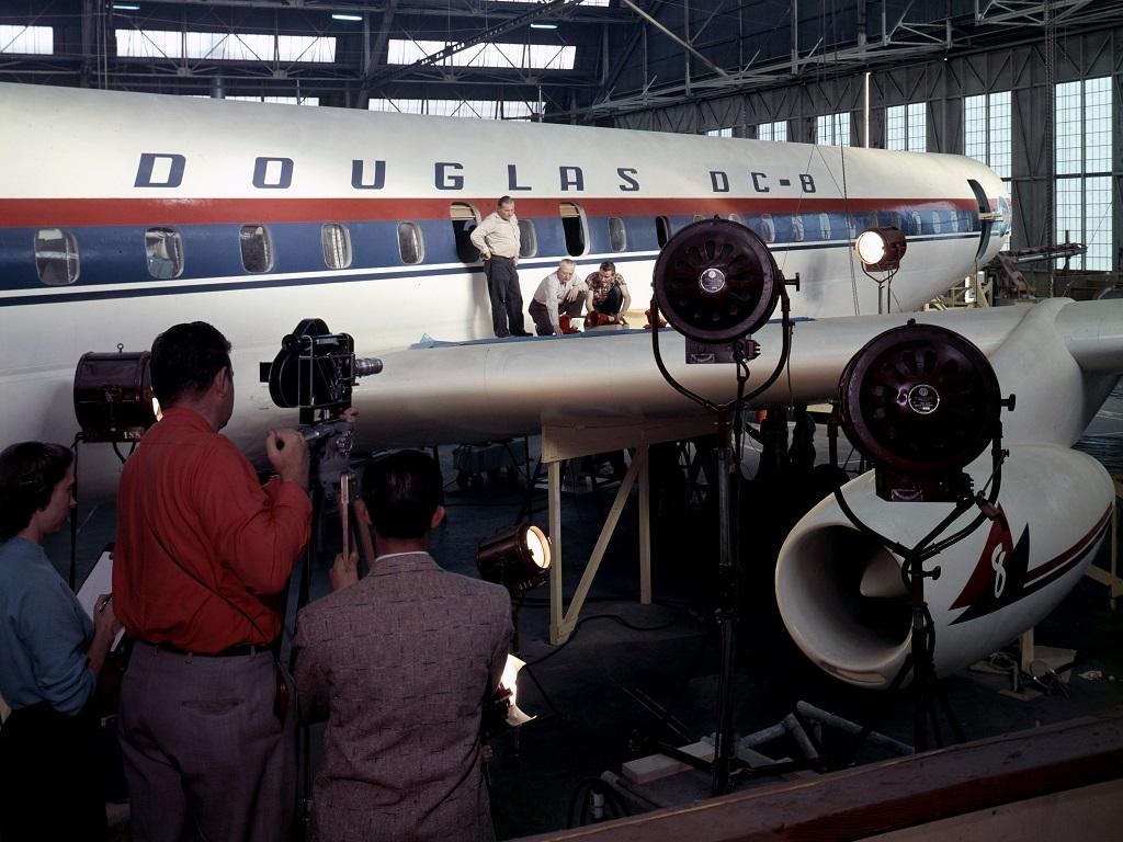 Douglas DC-8 mockup