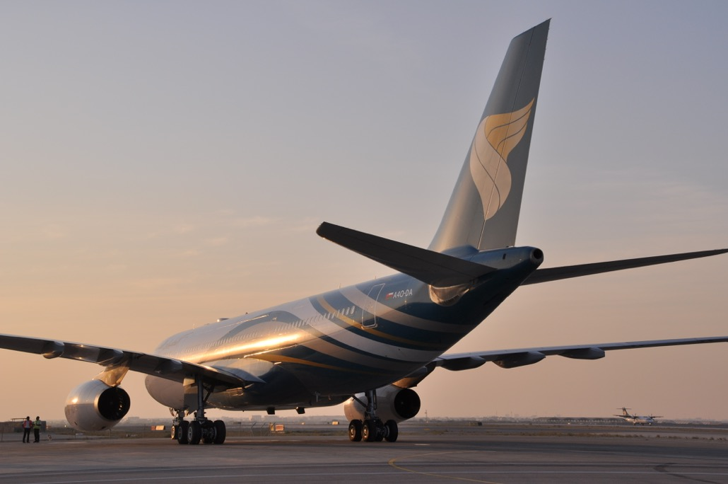 Oman air redfines