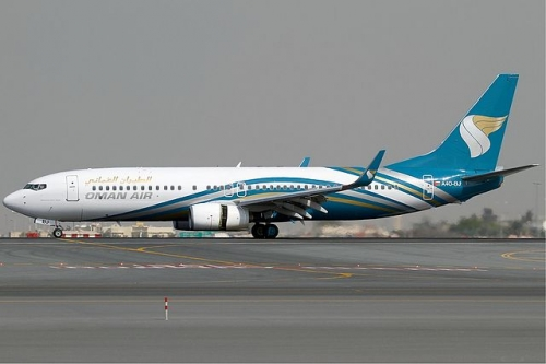 Oman Air 737-800  Picture: Konstantin von Wedelstaedt/commons.wikimedia.org