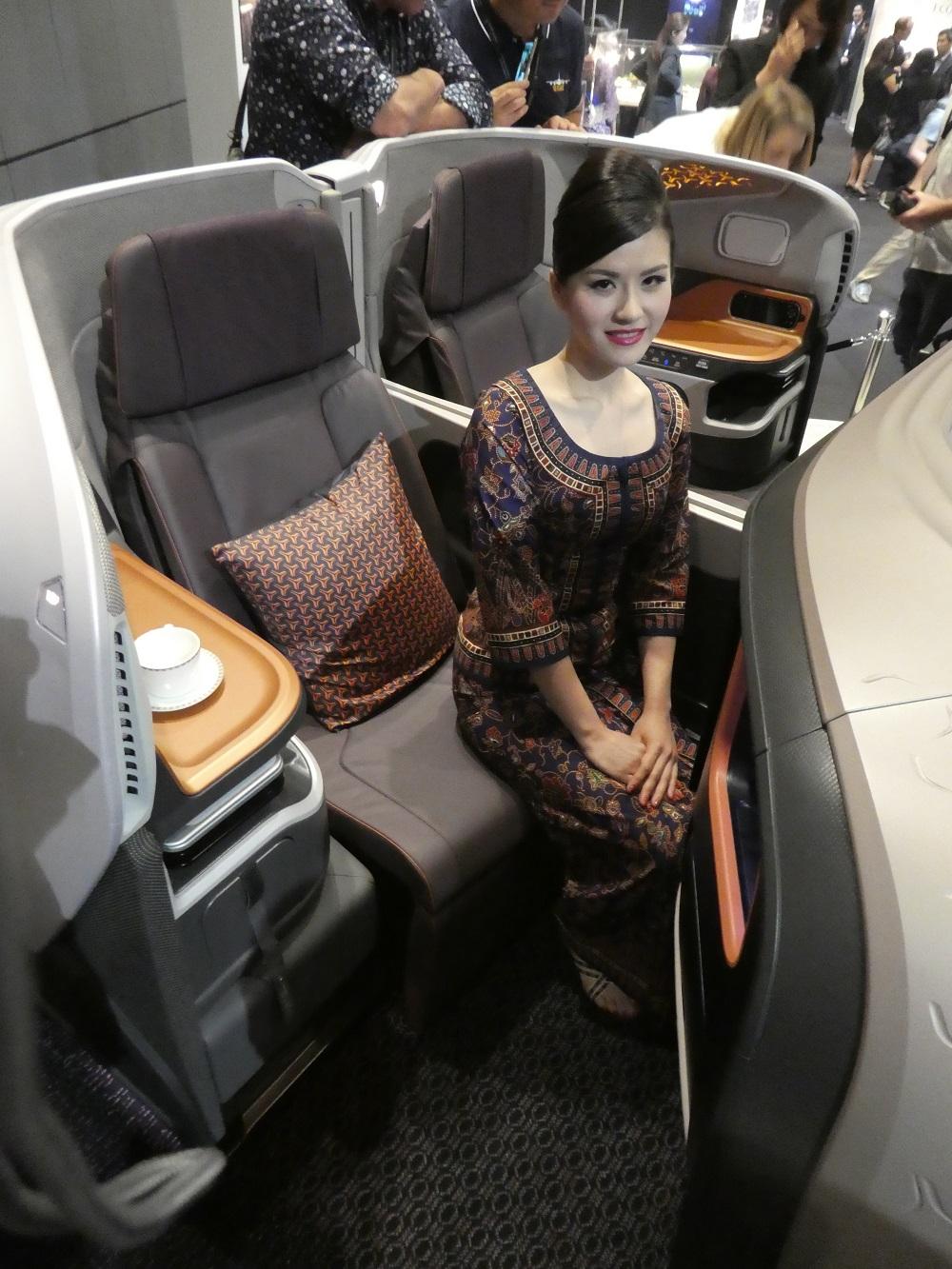 Singapore A380 new biz
