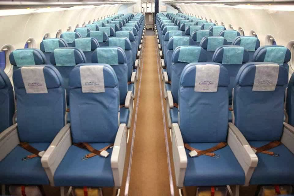 Philippine Airlines A321 economy class