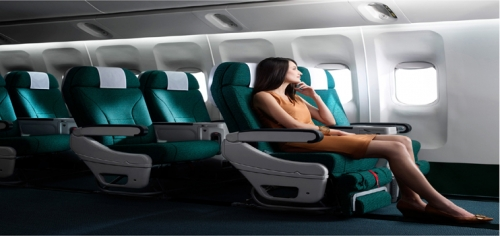 Premium Economy Picture: Cathay Pacific
