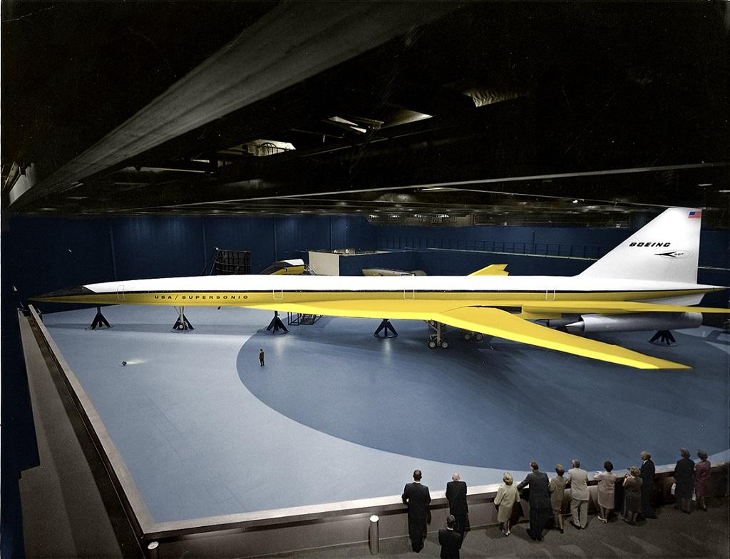 Boeing's B2707 mockup