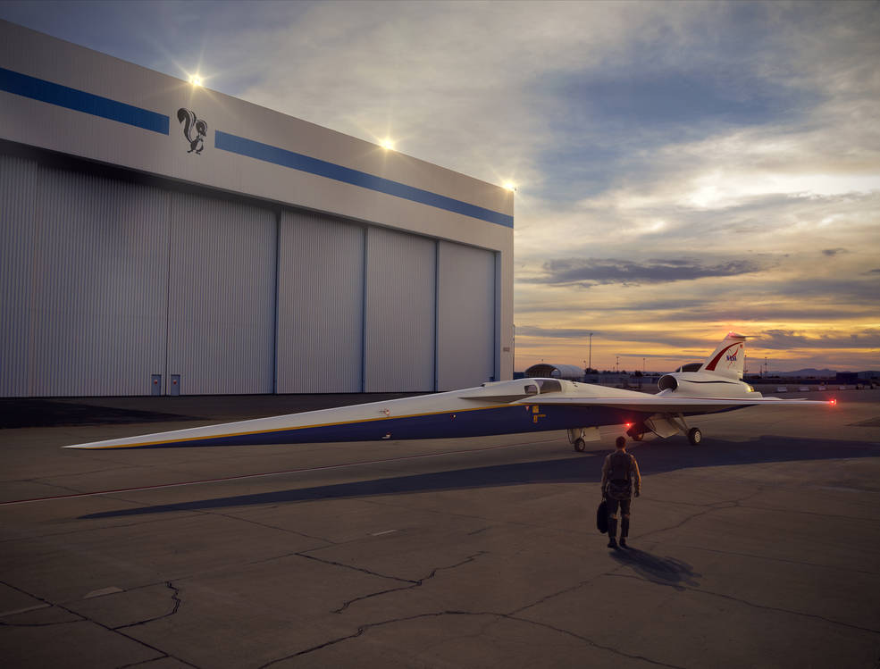 NASA lowers boom in supersonic travel