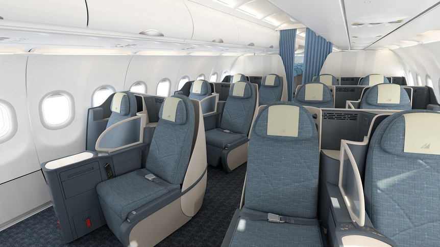 Philippine airliomes A321 business class