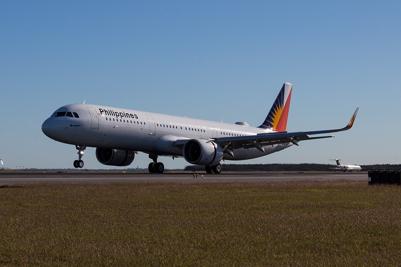 PAL A320neo change brisbane