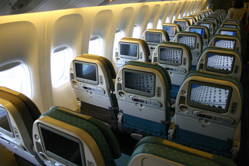 Singapore Airlines Economy Picture:Singapore Airlines