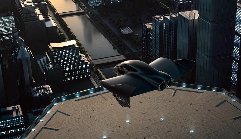 Porsche Boeing skycar