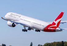 Qantas Boeiing 787