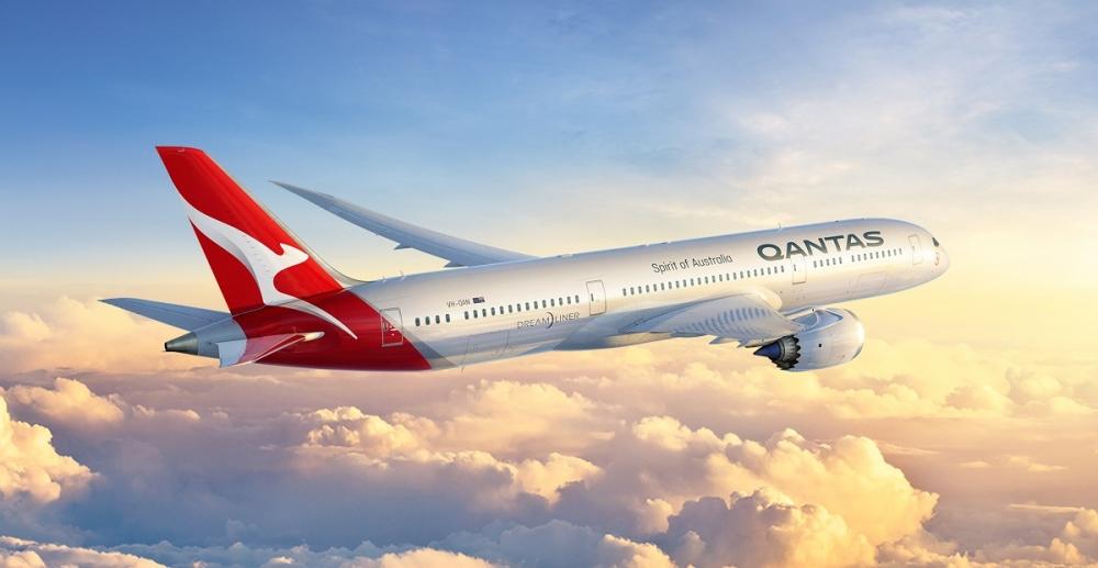 qantas Dreamliner San francisco