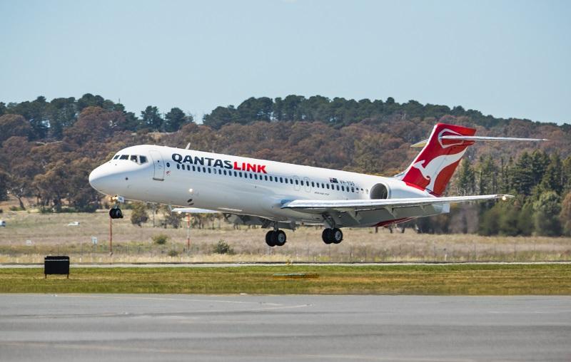 Qantas 717 maintenance Singapore