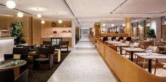 Qantas First lounge Changi