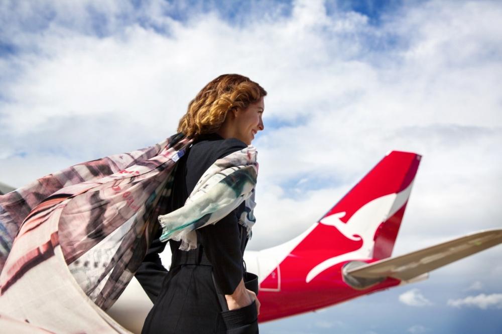 Qantas A380 Sydney London