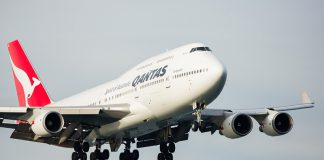Qantas 747 stall training