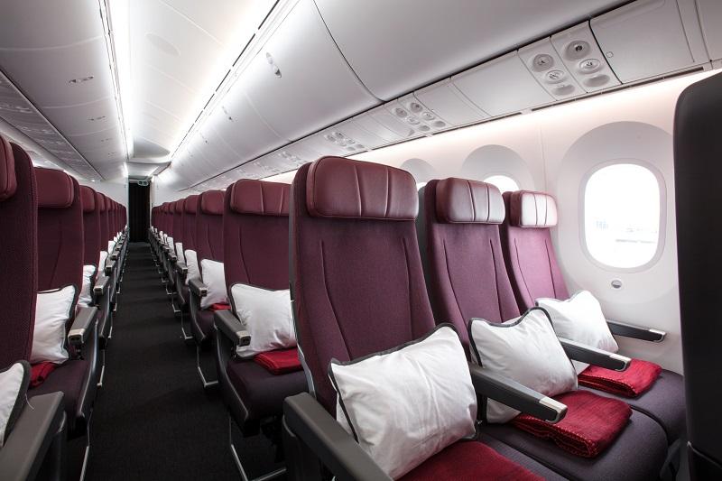 Qantas seats capacity