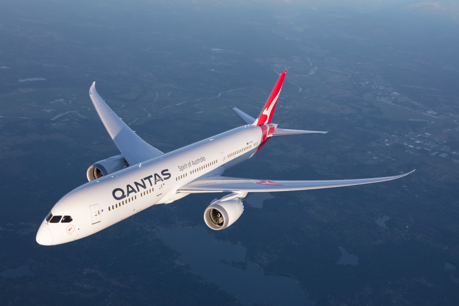 Qantas 787 Chicago