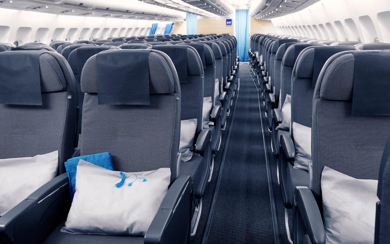 SAS economy class long haul