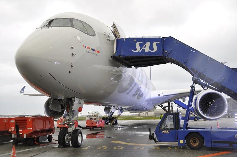 SAS A350 flight shaming