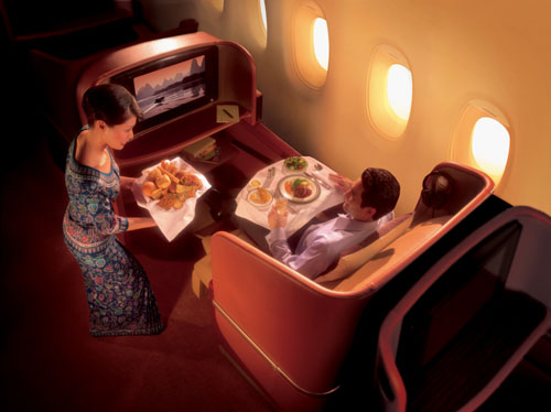 Singapore Airlines new First Class  Picture: Singapore Airlines