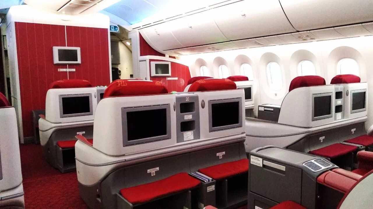SUparna 787 business class