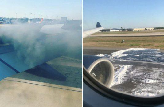 Delta Air Lines A330 fire