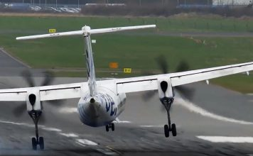 Cross wind landings can be challenge for passengers making many sick