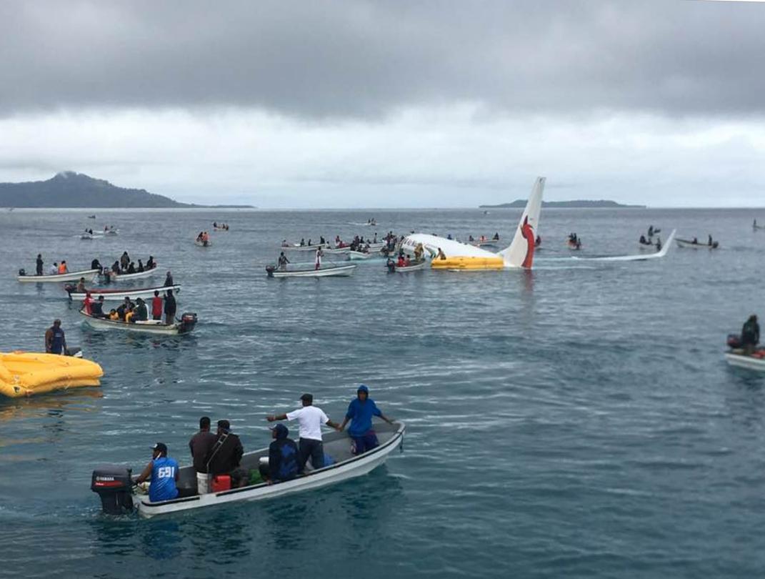 Air Niugini crash alerts ignored