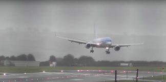 crossiwnd landing