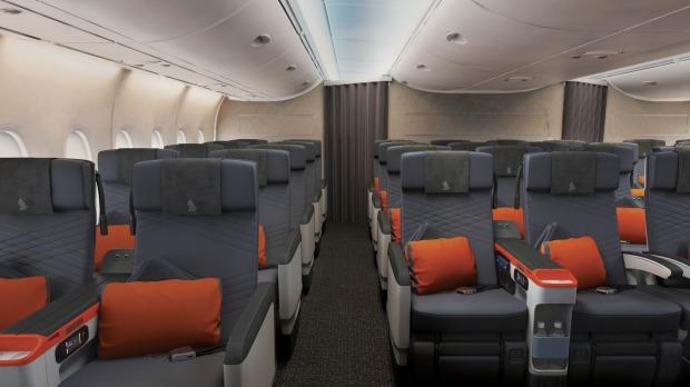 Singapore airlines premium econom y 2