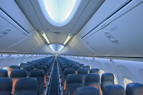 TUIfy 737-800 with the Boeing Sky Interior  Picture: TUIfly