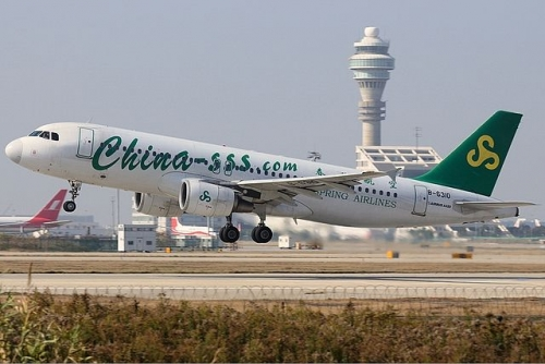 Spring Airlines A320  Picture:	Shimin Gu/commons.wikimedia.org