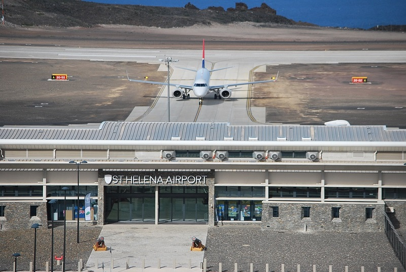 St Helena airport not sueless